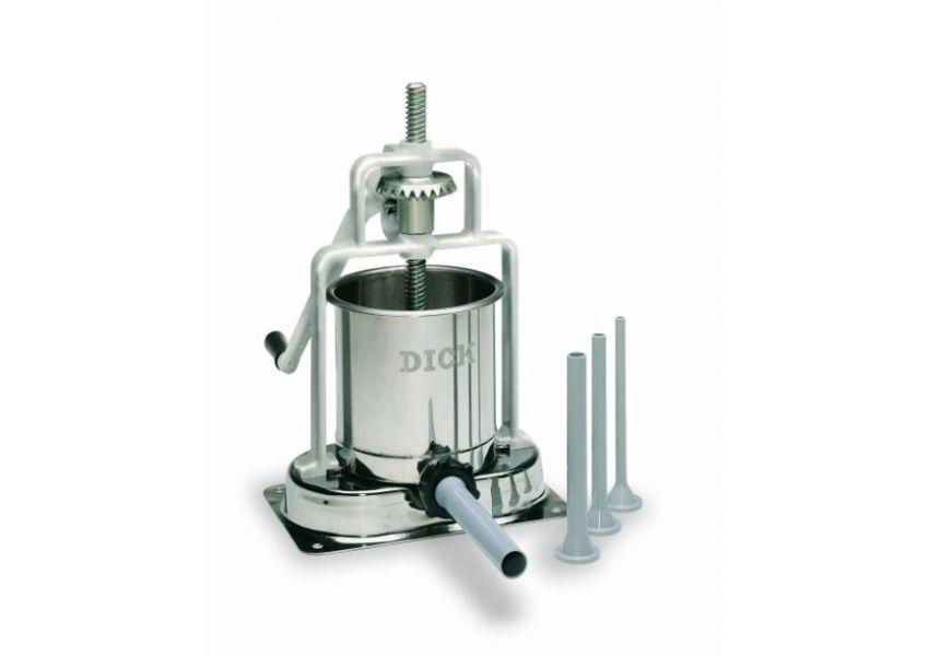 DICK 90606000- Nerezová plnička klobás 6,8 kg