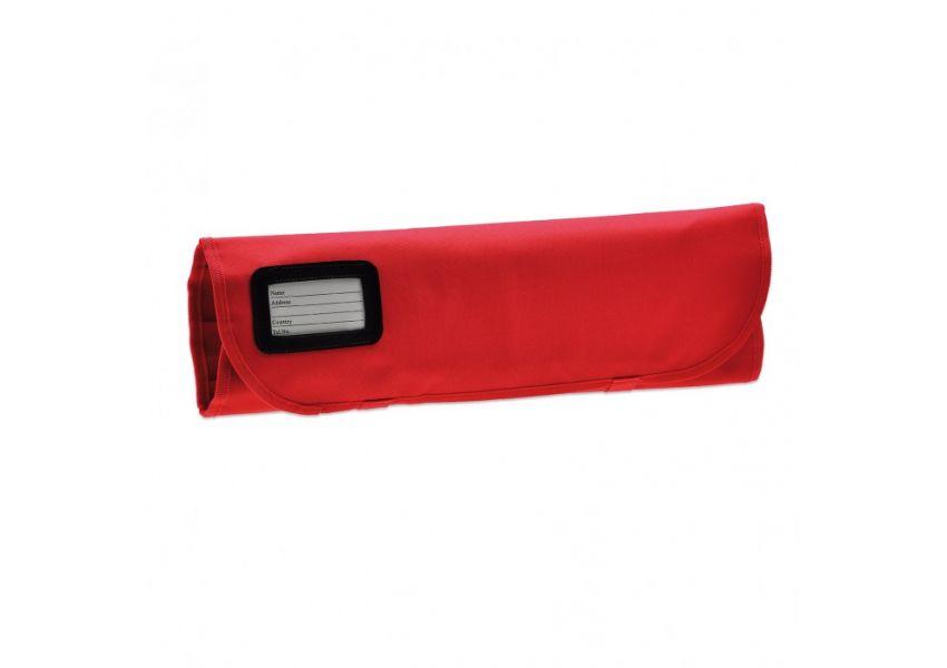 GIESSER rolovacia taška na 7 nožov, červená