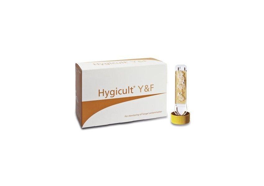 Hygicult Y + F, vzorky na baktérie, balenie 10 ks