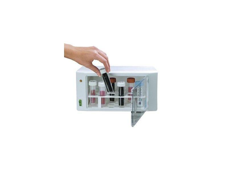 Malý inkubátor, monitorovanie testov Hygicult
